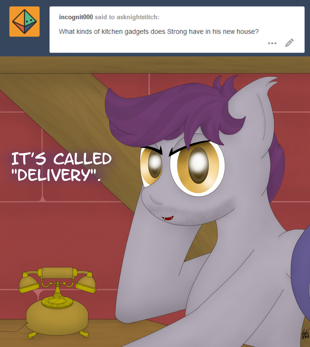Ask Night Stitch: Delivery