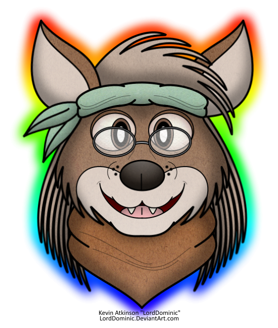 Old Hippie Coyote