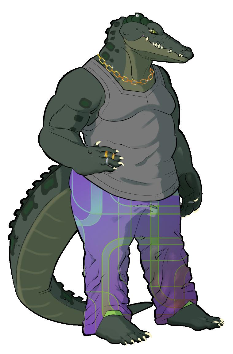 Hattie-Mae the Nile Crocodile
