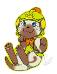 Monster Hunter- Scout Felyne