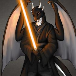 Dragon Jedi by Clemikou
