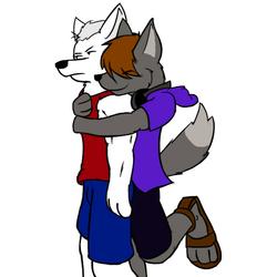 Sneak Hug!