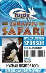 FurDU 2015 Badge