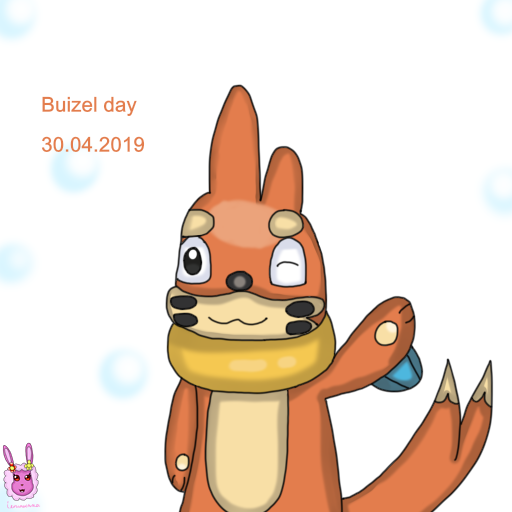 Buizel day 2019