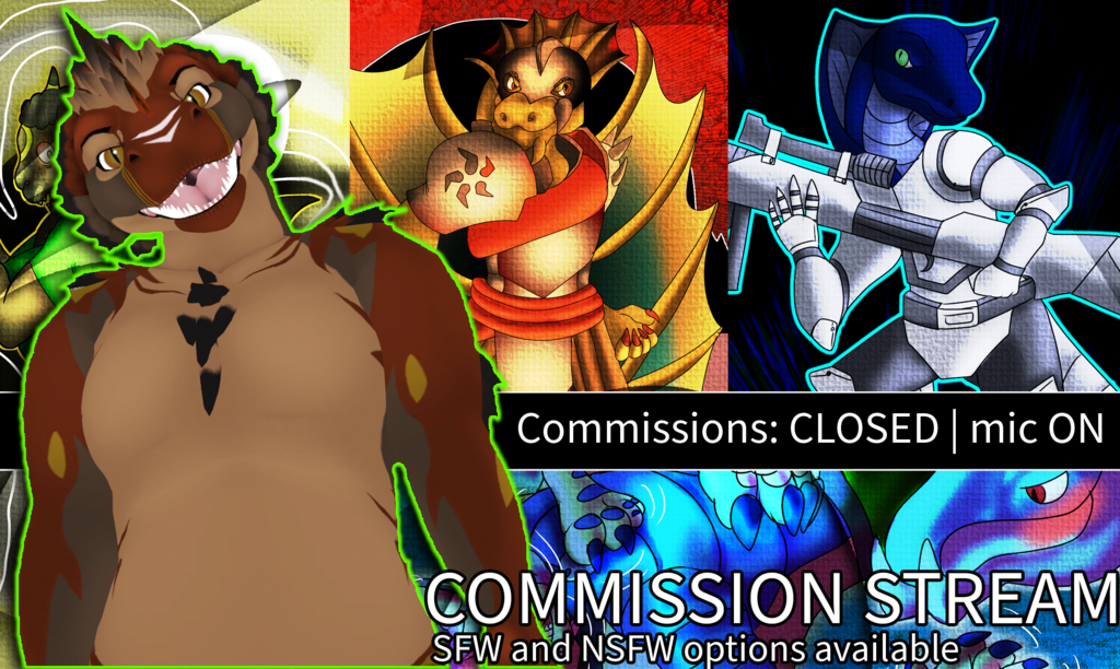 Most recent image: COMMISSION STREAM