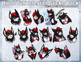 [C] - Zippo Tuff Telegram Sticker Pack 2