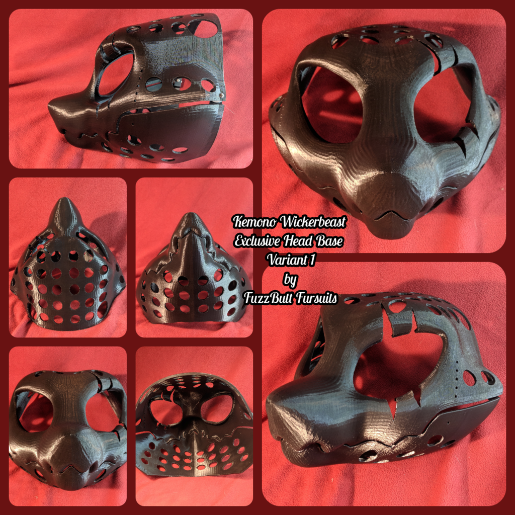 Kemono Wickerbeast Exclusive Head Base Variant 1