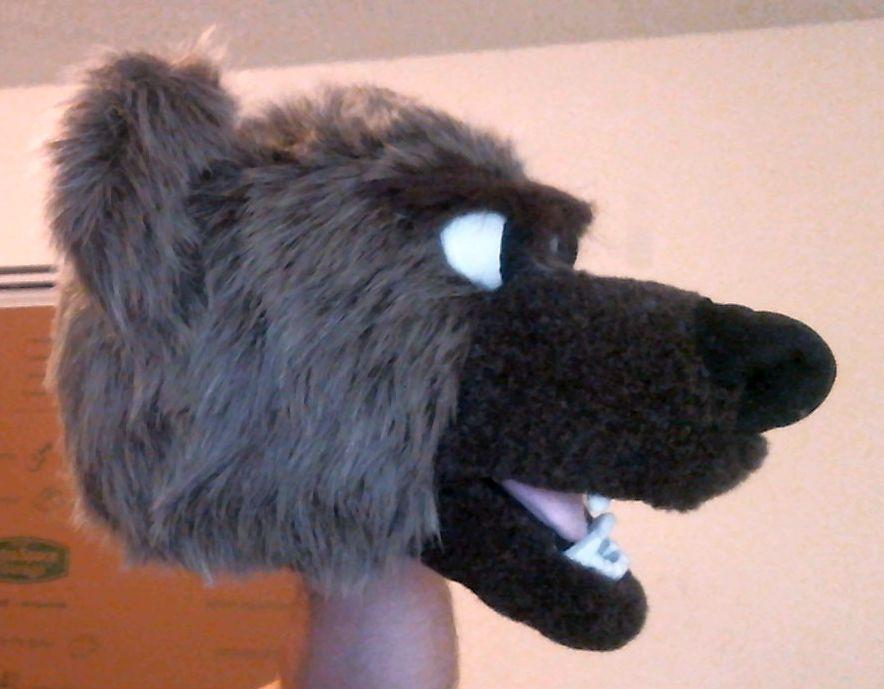 Bear Puppet 03/15/15 #2