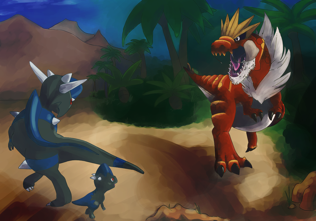 Prehistoric Pokemon Showdown