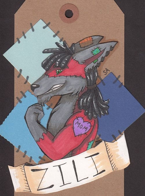 Zili Scrapbook Badge