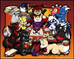 Chibi Dungeon and Dragons Game