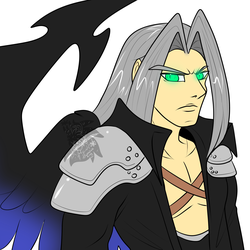 Sephiroth +1/6 Six Fanarts+