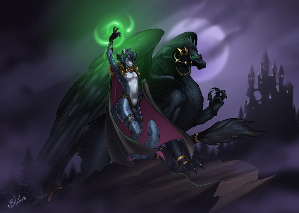 RP Commission - Wrath Blazeon