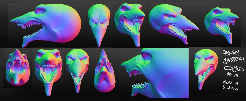 Most recent image: Fun in Sculptris ft. Jasper 2