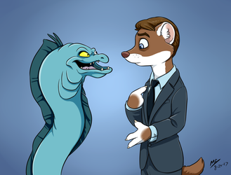 Weasel and Eel make a Deal