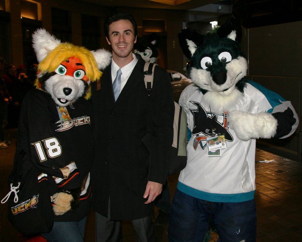 Meeting Ryan Miller at FC2010