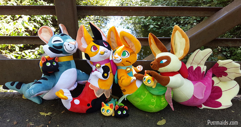 Purrmaids Together