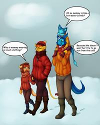 Family Winter Wandering