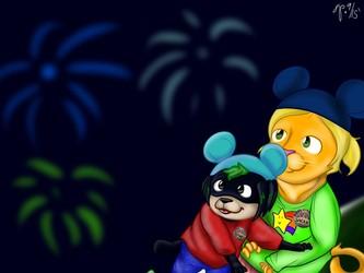 Disney Birthday For Sparks (September 2015)