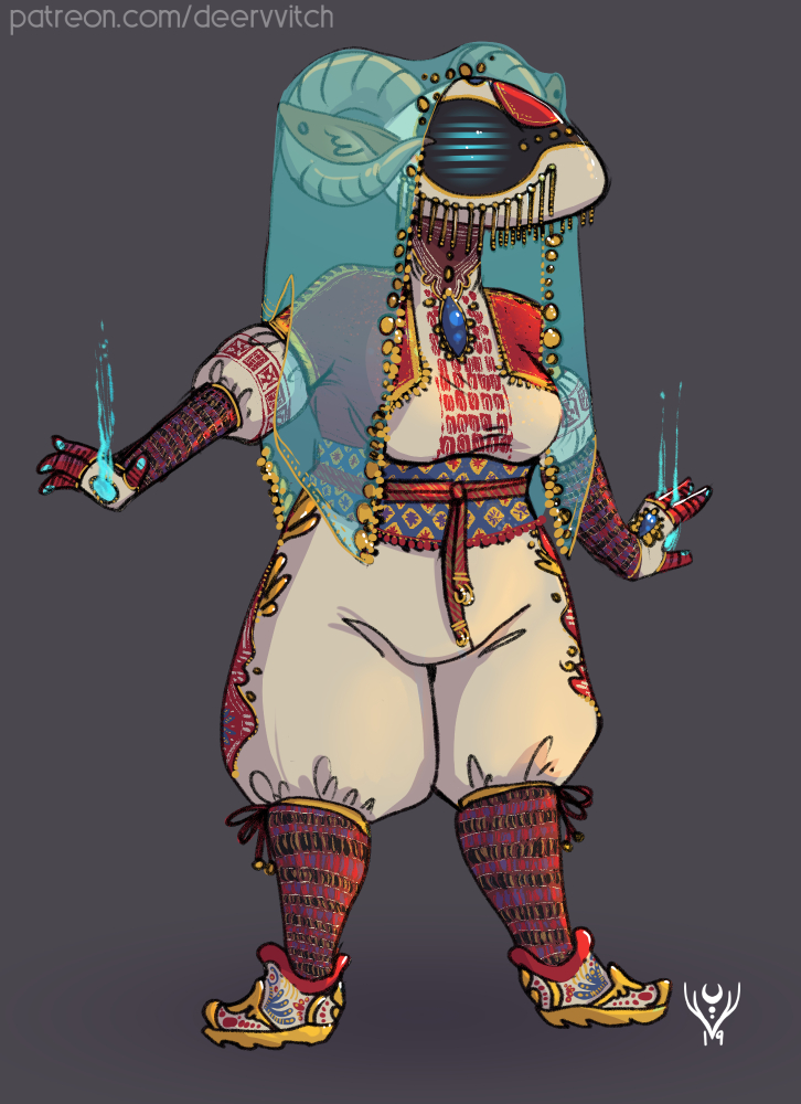 Lancer Personal Art - Yasmin's Flight Suit