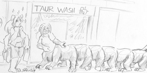 At the Taurwash