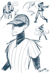 The Batter (Sketches)