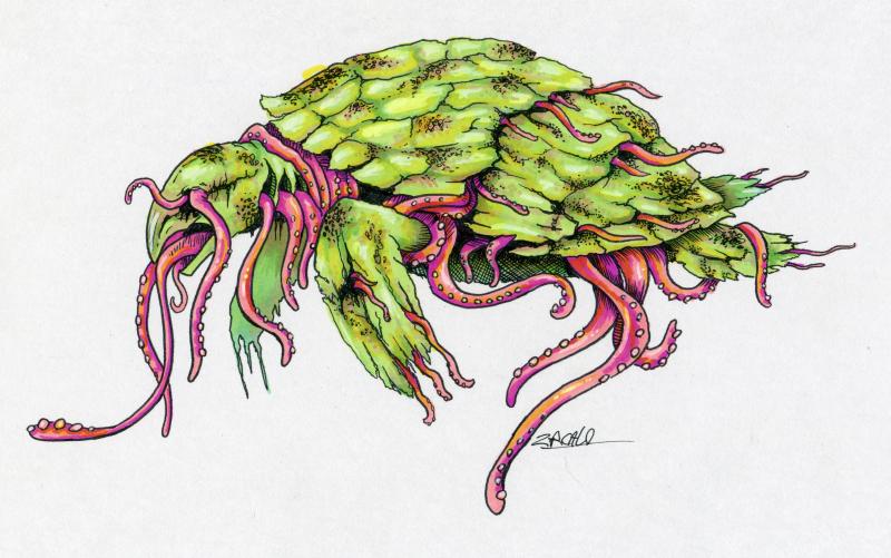 Parasitic Squid