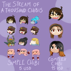 The Stream of a Thousand Chibis