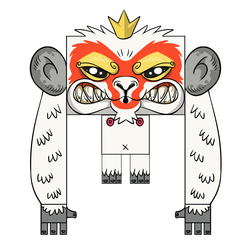Firestarter x Antz Collab - Monkeyking