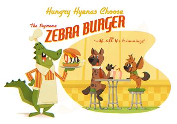 Hungry Hyenas Choose