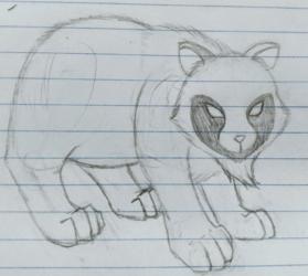 Tanuki Sketch