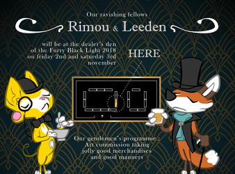 Where to find Rimou & Leeden at FBL 2018