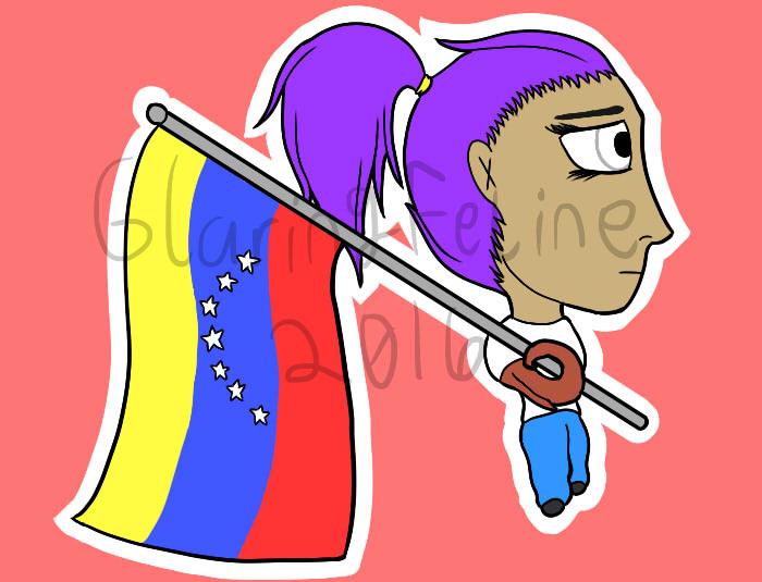 Grace Nationality Chibi