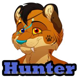Hunter badge!