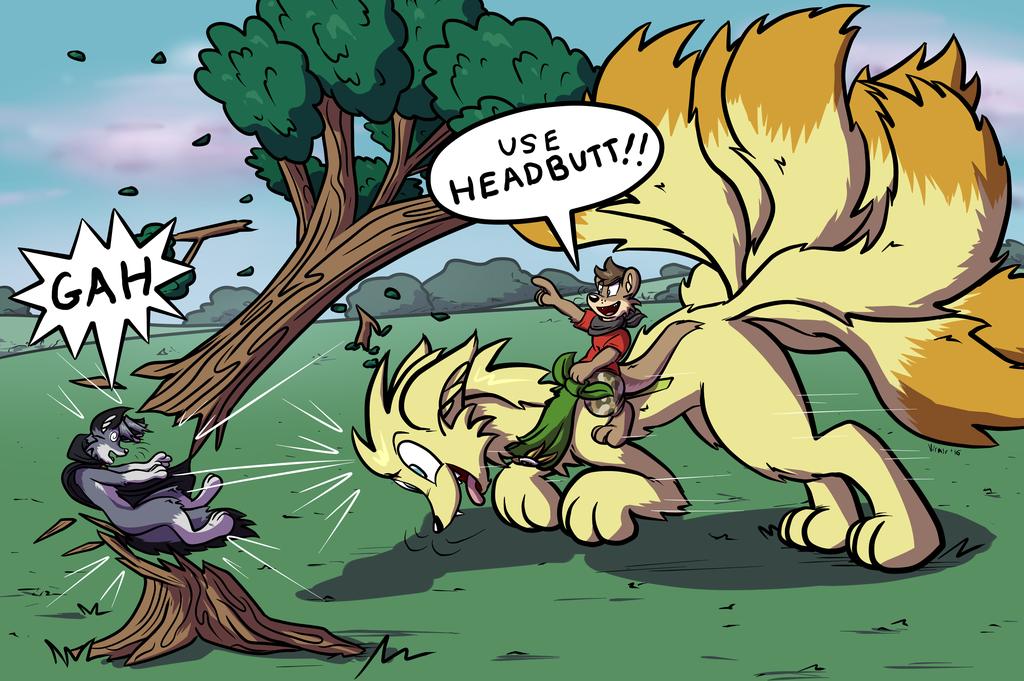 Giant Pokemon Assault and Battery