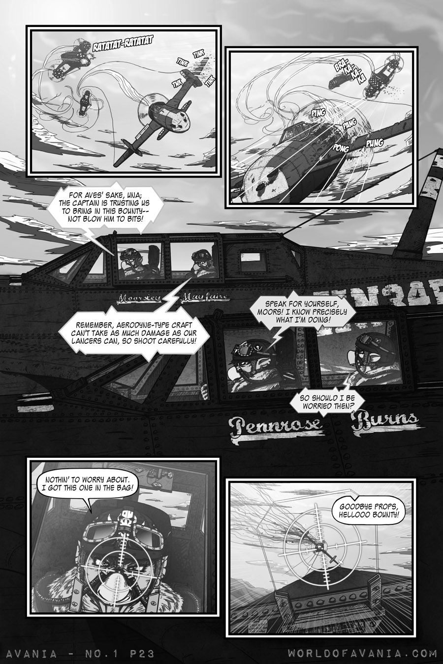 Avania Comic - Issue No.1, Page 23