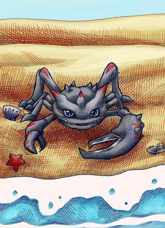 Digimontober 2: Crabmon