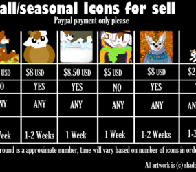 icons for sell