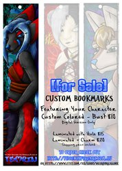 [For Sale] Custom Bookmarks