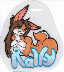 Bunny badge