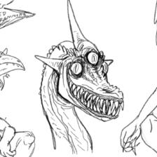 Practice doodles #6