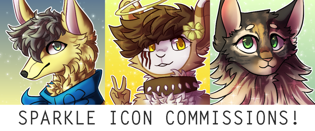 Featured image: sparkle icon commissions! (OPEN)