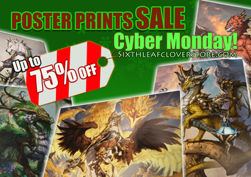 Cyber Monday SALES! Posters and Prints up to 75% OFF!