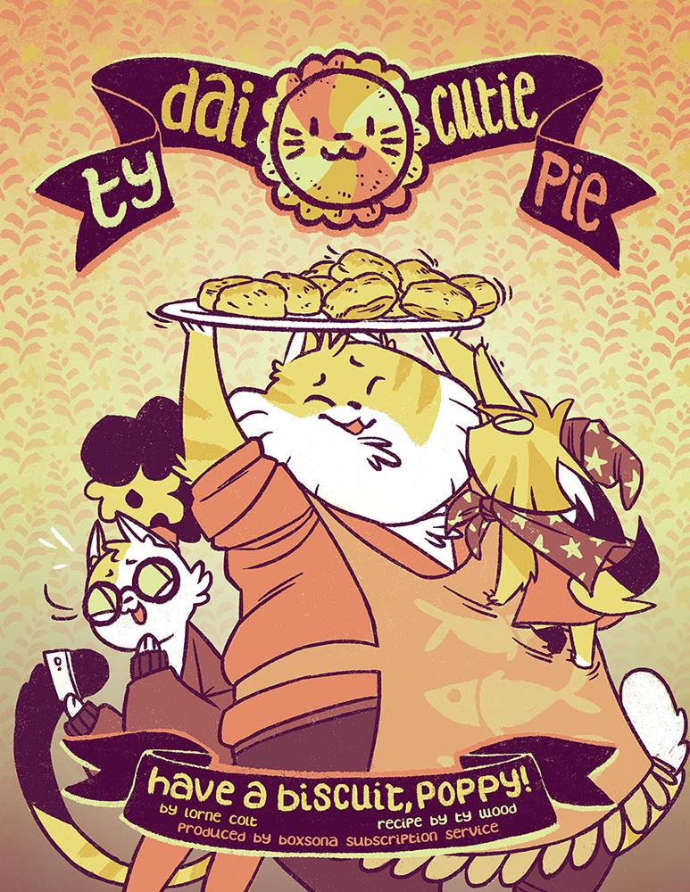 Ty Dai Cutie Pie cover
