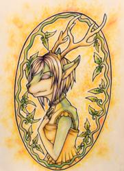 Watercolor: Goat/Elk