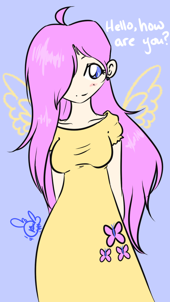 [FA] Fluttershy - Hello, How are You?
