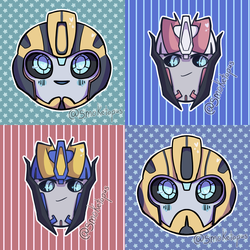 Bumblebee and Smokescreen Icons!