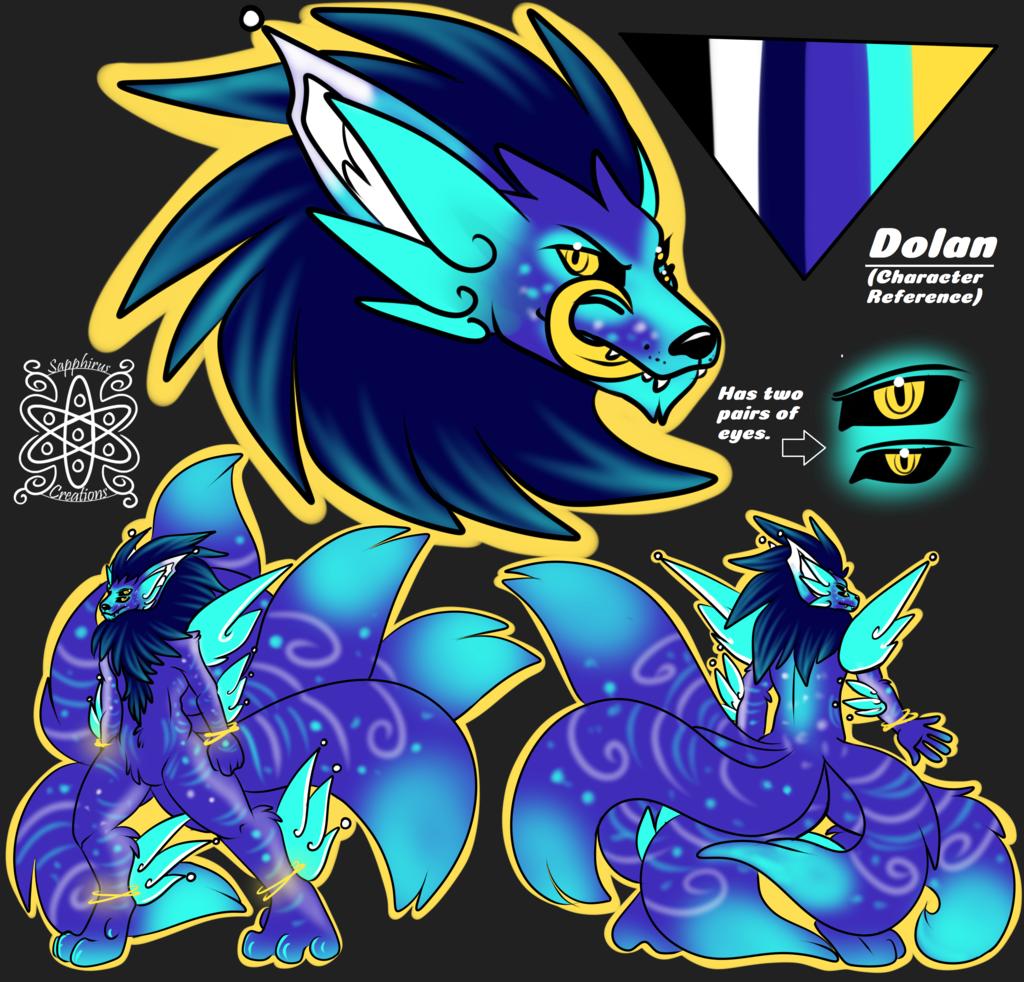 Dolan +Flatcolored Ref Commission+
