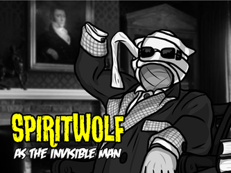 Movie Monster Badges -- SpiritWolf!