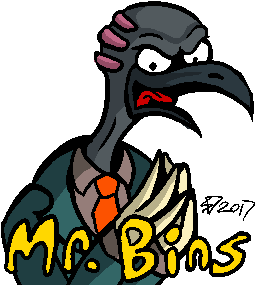 Most recent image: Mr Bins
